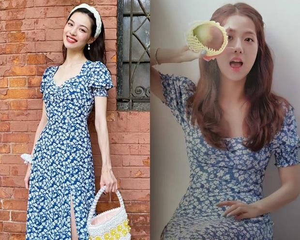 Jisoo xinh thế mà vẫn lép vế trước người tình của cha nuôi Lưu Diệc Phi khi diện cùng một mẫu váy - Ảnh 8.