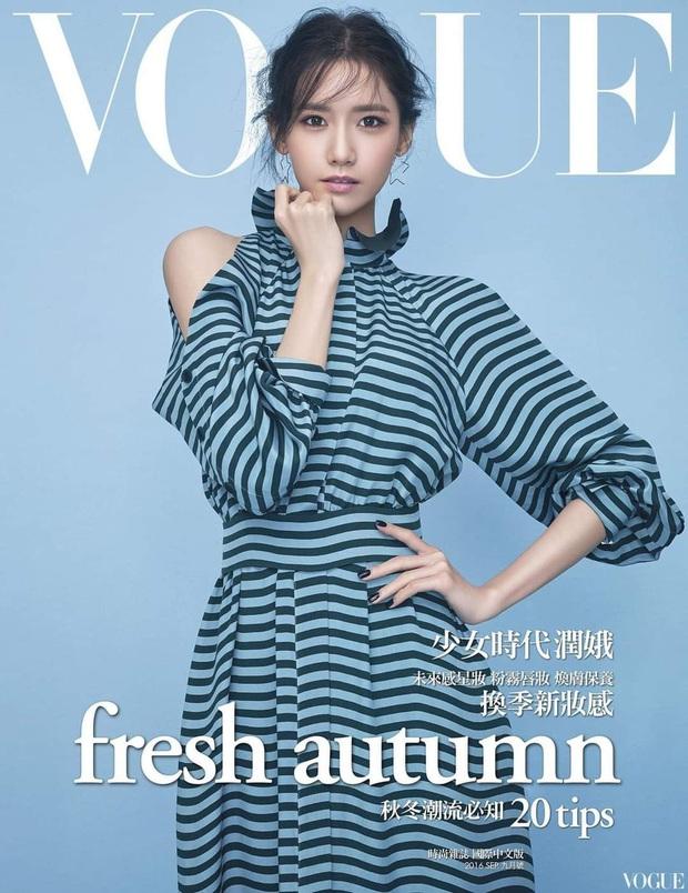 Nữ thần Yoona lồng lộn lên 7 bìa tạp chí đặc biệt, nhưng lại gây tranh cãi vì bị dìm với đôi mắt trợn trừng đến lạ - Ảnh 3.