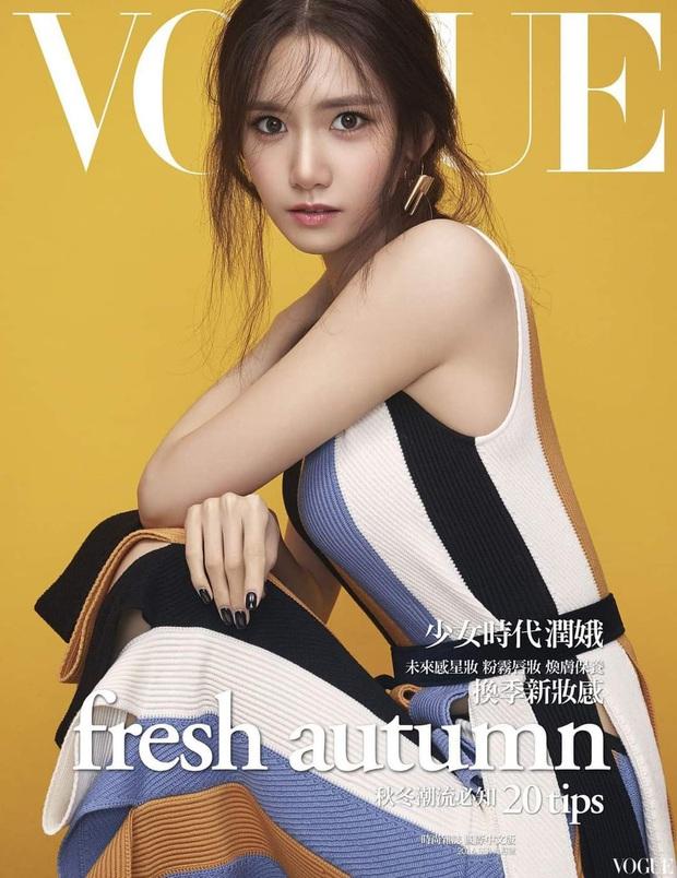 Nữ thần Yoona lồng lộn lên 7 bìa tạp chí đặc biệt, nhưng lại gây tranh cãi vì bị dìm với đôi mắt trợn trừng đến lạ - Ảnh 5.