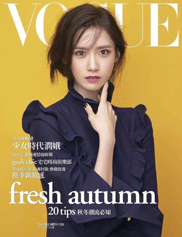 Nữ thần Yoona lồng lộn lên 7 bìa tạp chí đặc biệt, nhưng lại gây tranh cãi vì bị dìm với đôi mắt trợn trừng đến lạ - Ảnh 4.