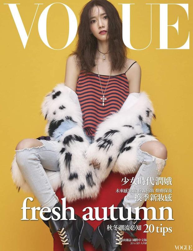 Nữ thần Yoona lồng lộn lên 7 bìa tạp chí đặc biệt, nhưng lại gây tranh cãi vì bị dìm với đôi mắt trợn trừng đến lạ - Ảnh 8.