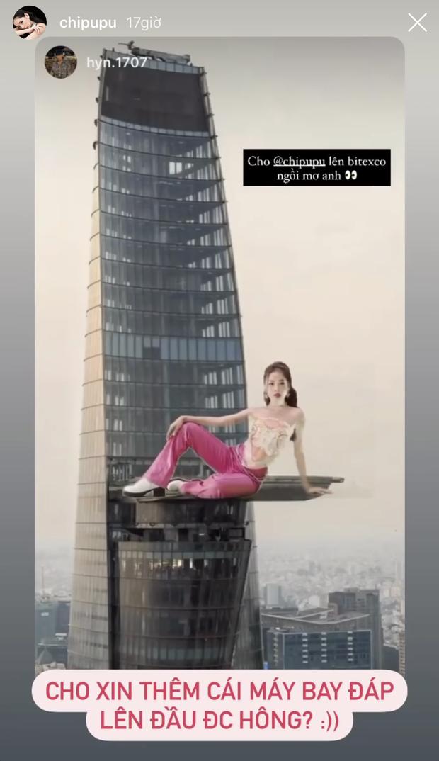 Chơi trội ra MV nhưng toàn bộ là phông xanh, Chi Pu được các fan cho đi du lịch khắp nơi trên thế giới - Ảnh 11.