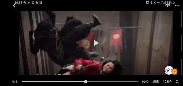 Netizen soi rõ mồn một mặt diễn viên đóng thế Lưu Diệc Phi ở Mulan, Disney ơi sao lại hậu đậu thế! - Ảnh 5.