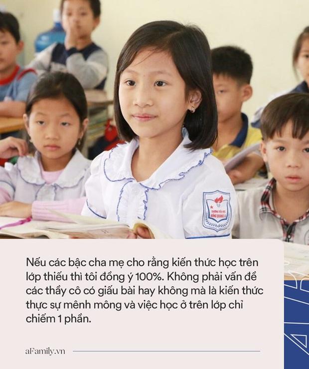 Tiến sĩ Vũ Thu Hương: Gửi các cha mẹ có con lên cấp 2, đừng cuống cuồng cho con đi học thêm ngoài, đây mới là những điều trẻ thực sự cần - Ảnh 2.