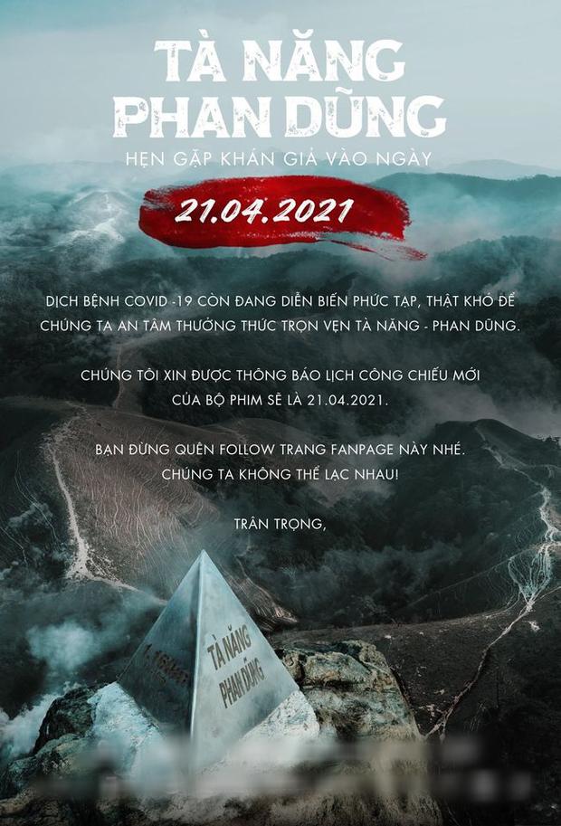 Tà Năng Phan Dũng - phim sinh tồn đầu tiên của Việt Nam hoãn chiếu hơn nửa năm vì dịch bệnh - Ảnh 1.