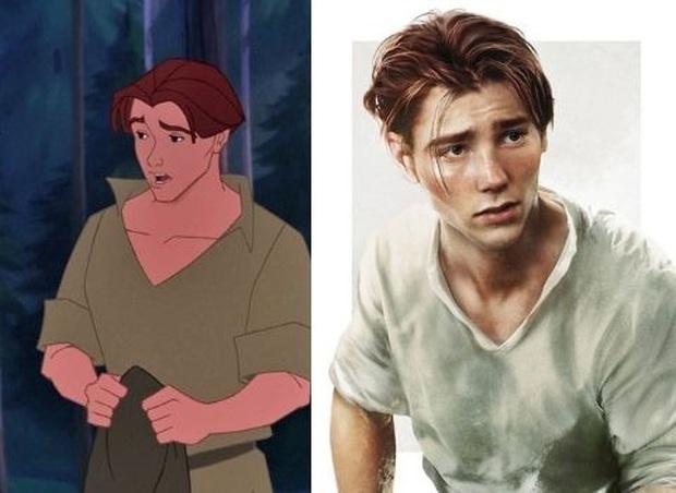 Bất ngờ với phiên bản đời thực của các nam chính trong phim hoạt hình Disney, toàn siêu cấp đẹp trai đốn tim chị em - Ảnh 9.