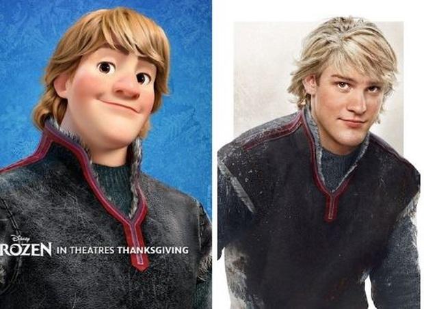 Bất ngờ với phiên bản đời thực của các nam chính trong phim hoạt hình Disney, toàn siêu cấp đẹp trai đốn tim chị em - Ảnh 10.