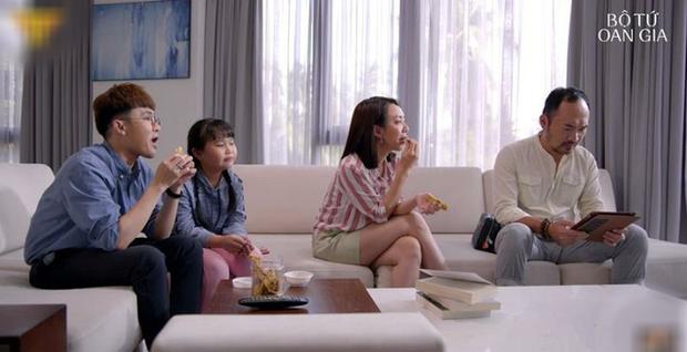 Bị Lee Min Ho nhập, Huỳnh Lập đốn gục crush bằng công thức hóa học ở Bộ Tứ Oan Gia tập 3 - Ảnh 2.