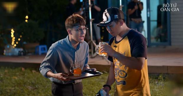 Bị Lee Min Ho nhập, Huỳnh Lập đốn gục crush bằng công thức hóa học ở Bộ Tứ Oan Gia tập 3 - Ảnh 3.