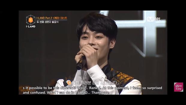 Hanbin xuất sắc lọt top 4 I-LAND, nói cảm ơn bằng tiếng Việt trên sóng Hàn Quốc - Ảnh 2.