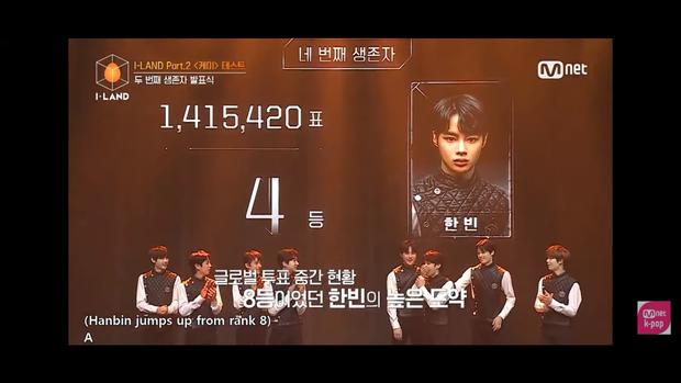 Hanbin xuất sắc lọt top 4 I-LAND, nói cảm ơn bằng tiếng Việt trên sóng Hàn Quốc - Ảnh 3.