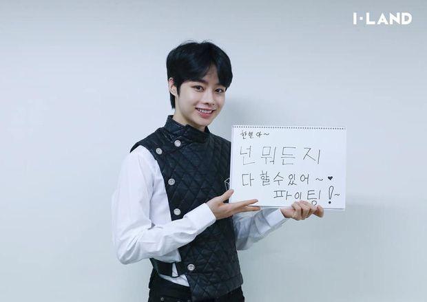 Hanbin xuất sắc lọt top 4 I-LAND, nói cảm ơn bằng tiếng Việt trên sóng Hàn Quốc - Ảnh 4.