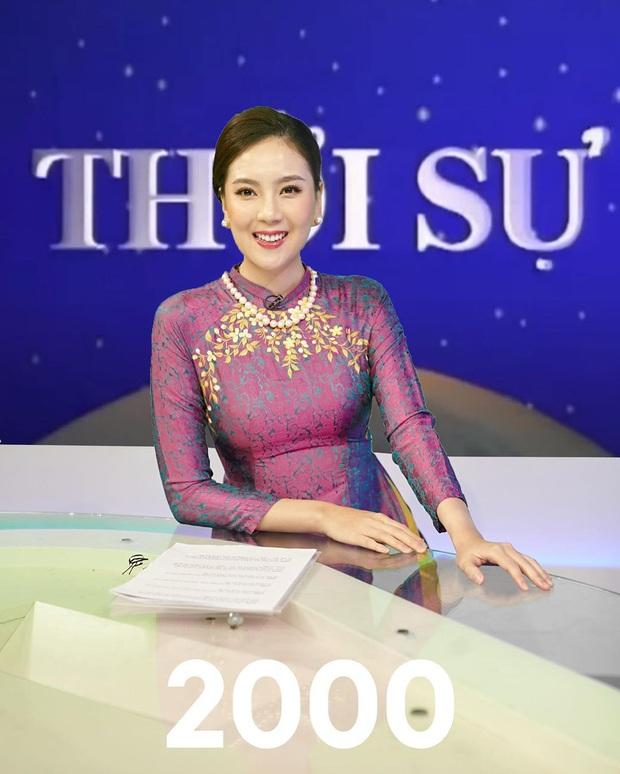 Mai Ngọc tái hiện hình ảnh MC Thời Sự VTV qua 50 năm, dân tình bồi hồi nhớ kỉ niệm tuổi thơ - Ảnh 3.