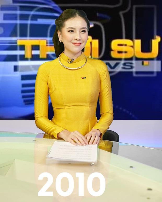 Mai Ngọc tái hiện hình ảnh MC Thời Sự VTV qua 50 năm, dân tình bồi hồi nhớ kỉ niệm tuổi thơ - Ảnh 4.
