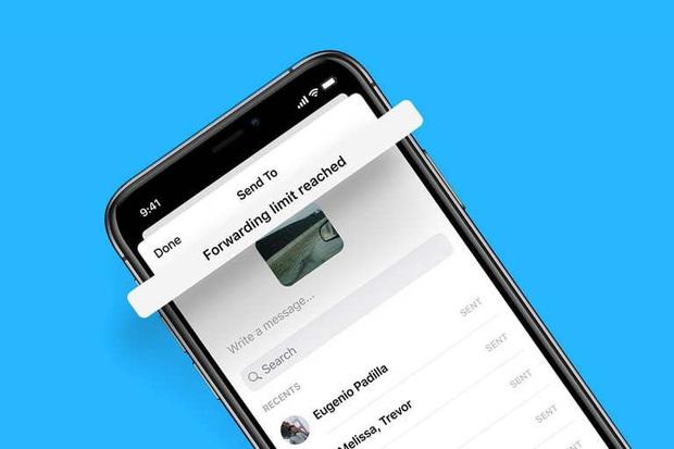 Facebook hạn chế khả năng chuyển tiếp tin nhắn Messenger - Ảnh 1.