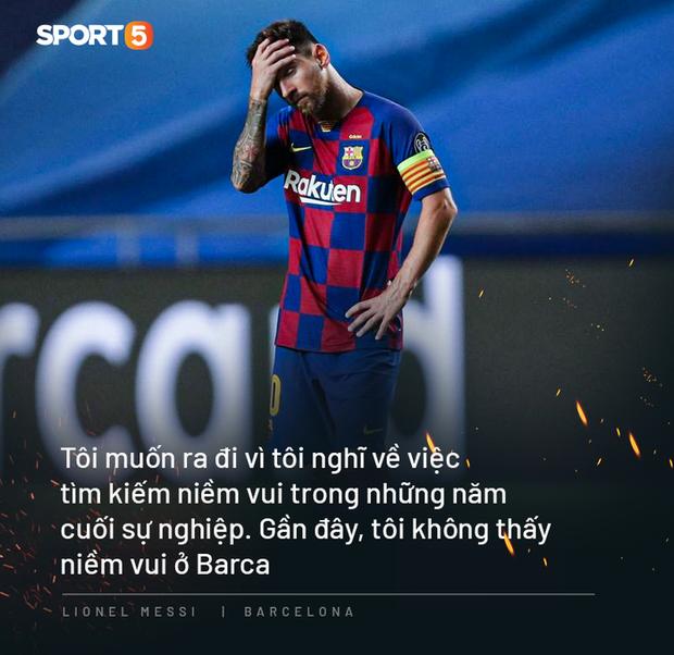 Messi ở lại Barca, nhưng cả 2 đều tổn thương sâu sắc và mối tình gần 20 năm đã kết thúc - Ảnh 2.