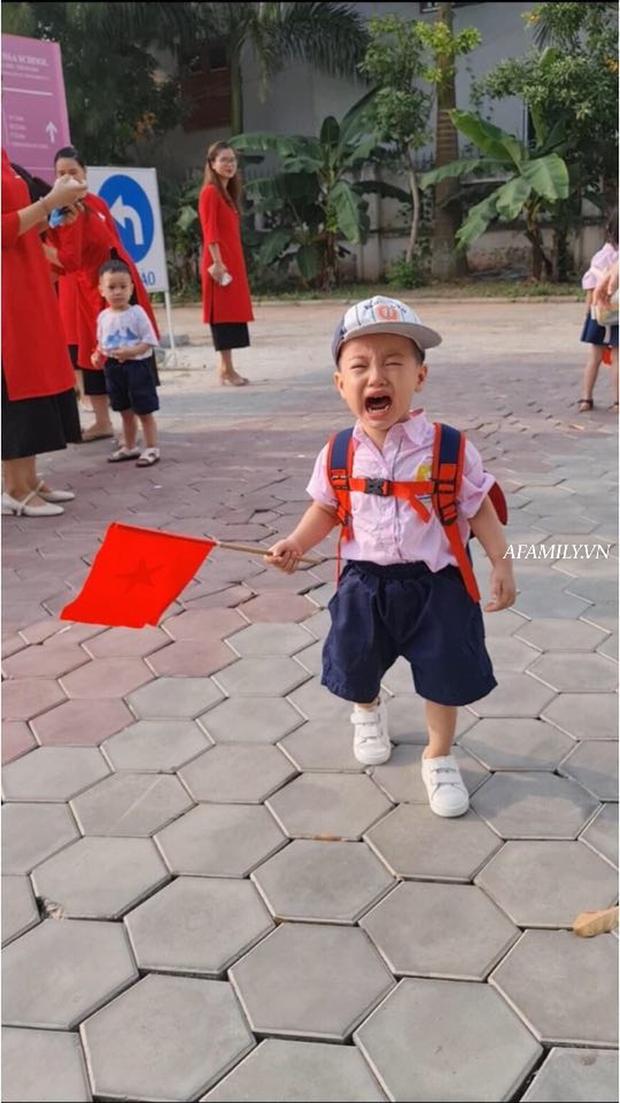 Loạt ảnh không thể bỏ qua ngày khai giảng: Học sinh mầm non cưng muốn xỉu, vừa đến trường đã gào khóc đòi về - Ảnh 13.