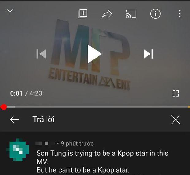 Netizen Hàn bất ngờ tràn vào bình luận khiếm nhã trong MV Hãy Trao Cho Anh của Sơn Tùng, fan Việt gay gắt đáp trả - Ảnh 1.