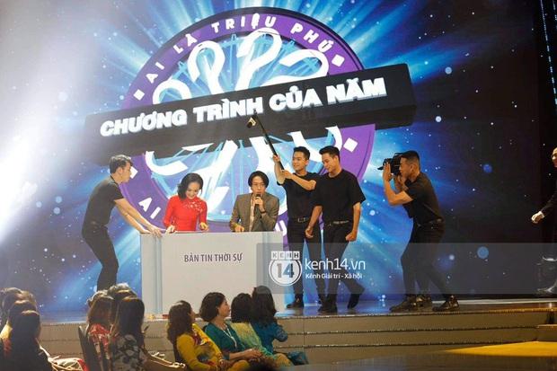 Sân khấu bất ngờ nhất VTV Awards tối nay: Trọng Thắng (Ngọt) góp giọng cùng MC Ai Là Triệu Phú và cả dàn BTV VTV - Ảnh 3.