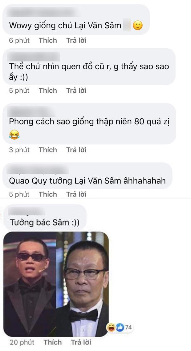Wowy vui mừng vì được thay đồ mới ở Rap Việt, fan vào nói giống... MC Lại Văn Sâm - Ảnh 4.