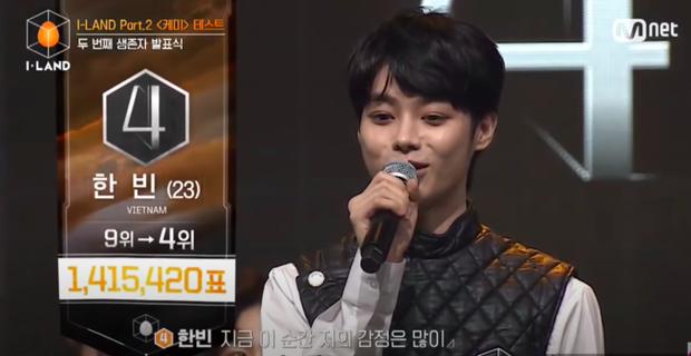 Netizen Việt phát sốt vì thứ hạng #4 của Hanbin tại show I-LAND: Từ phấn khích, sướng tê người đến xúc động rơi nước mắt! - Ảnh 2.