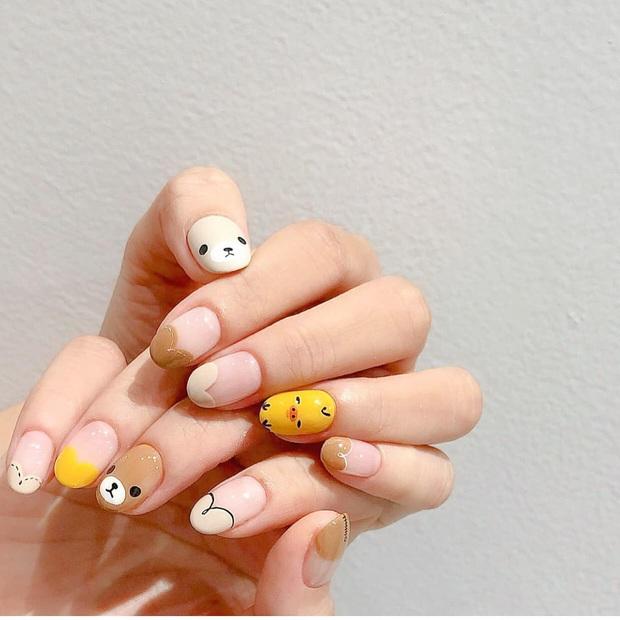 11 mẫu nail cute hết nấc, diện lên xinh tay hẳn  - Ảnh 3.