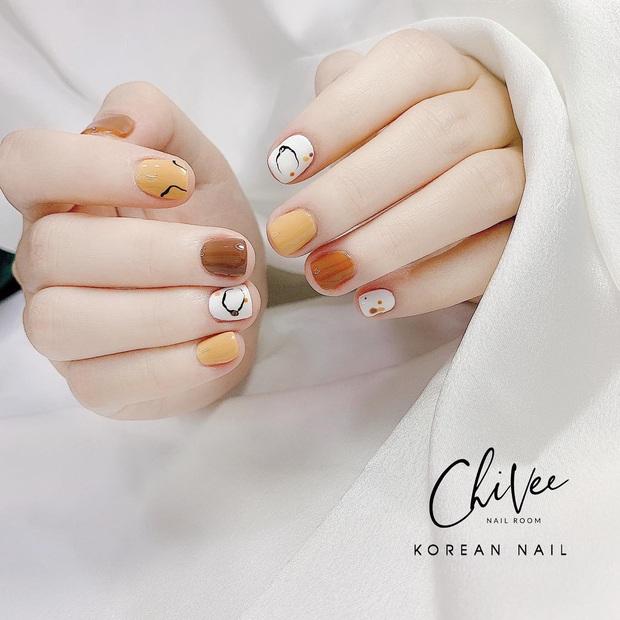 11 mẫu nail cute hết nấc, diện lên xinh tay hẳn  - Ảnh 1.