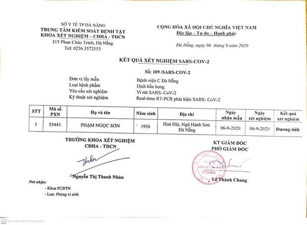 Sau 1 tuần, Đà Nẵng lại có ca dương tính với SARS-CoV-2 - Ảnh 1.