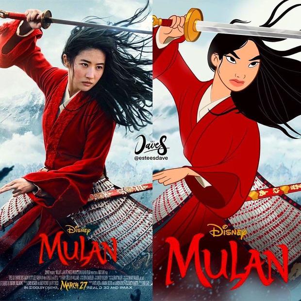 Từ hoạt hình Mulan đến bản người đóng: Lưu Diệc Phi được bơm thành... phù thủy đam mê nữ quyền? - Ảnh 2.