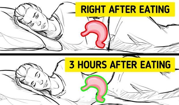 Đi ngủ ngay sau khi ăn có thể khiến bạn gặp phải 5 vấn đề xấu cho sức khỏe - Ảnh 2.