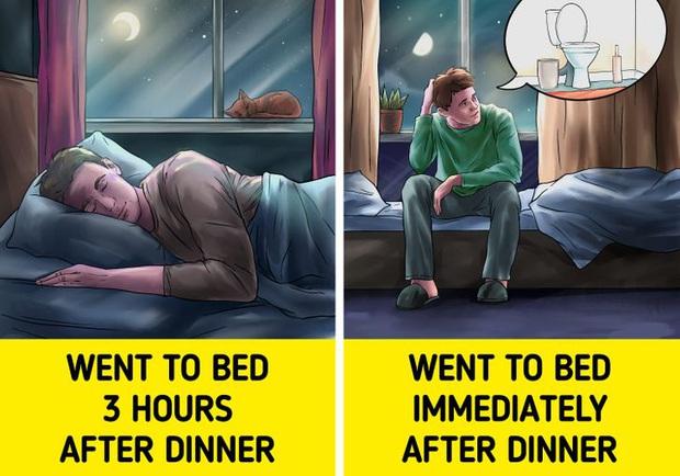 Đi ngủ ngay sau khi ăn có thể khiến bạn gặp phải 5 vấn đề xấu cho sức khỏe - Ảnh 4.