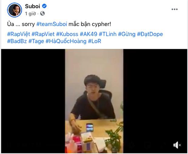 """Suboi công khai dằn mặt"""" 3 HVL Rap Việt, Châu Bùi có động thái ngay và luôn: Đáp lại hộ Binz hay chị gửi lộn đây? - Ảnh 2."""