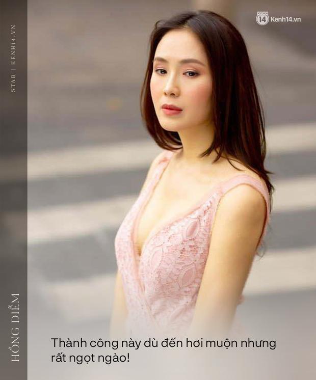 """Phỏng vấn nóng Hồng Diễm sau màn thắng đậm ở VTV Awards: """"Tôi không chán đóng với Hồng Đăng nhưng sợ khán giả sẽ cảm thấy chán"""" - Ảnh 6."""