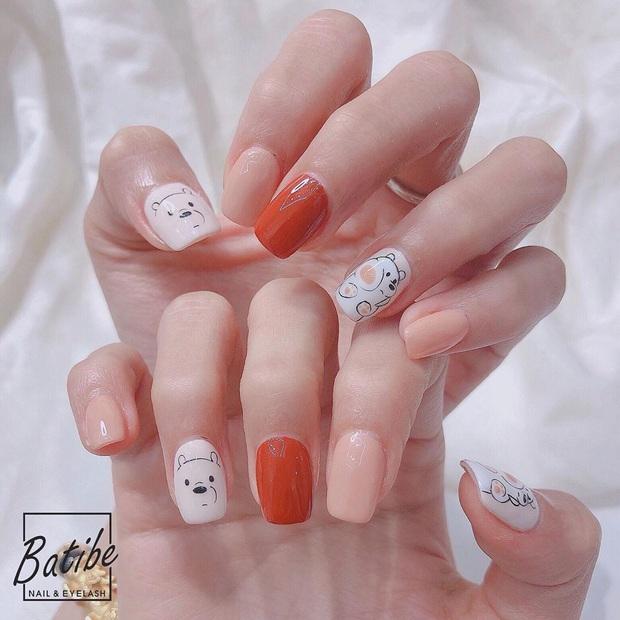 11 mẫu nail cute hết nấc, diện lên xinh tay hẳn  - Ảnh 5.