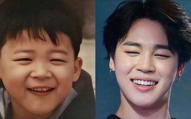 So sánh ảnh quá khứ - hiện tại của BTS: Chứng minh nhan sắc hàng thật giá thật, loạt nam thần đình đám đẹp trai từ thời thơ bé - Ảnh 14.
