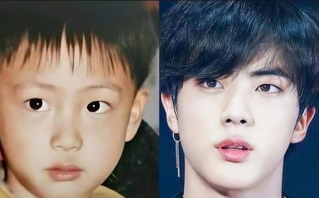 So sánh ảnh quá khứ - hiện tại của BTS: Chứng minh nhan sắc hàng thật giá thật, loạt nam thần đình đám đẹp trai từ thời thơ bé - Ảnh 10.