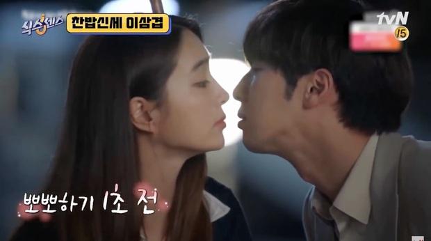"""Được hôn Lee Min Jung, chàng bạn diễn Lee Sang Yeob """"toát mồ hô hột"""" vì sợ tiền bối thanh toán - Ảnh 3."""