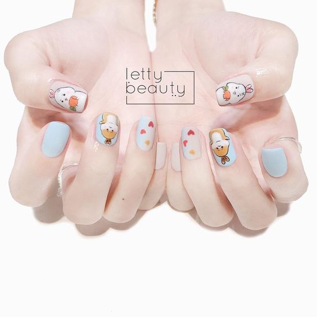 11 mẫu nail cute hết nấc, diện lên xinh tay hẳn  - Ảnh 7.
