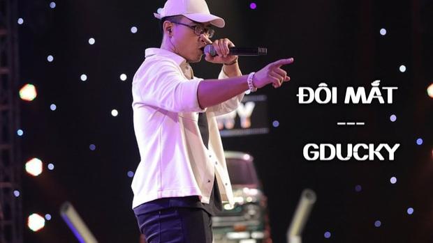 GDucky thi ấn tượng tại Rap Việt khi làm sống lại hit Đôi Mắt, thế nhưng lại bị loại ngay từ vòng gửi xe của BeckStage Battle Rap - Ảnh 2.