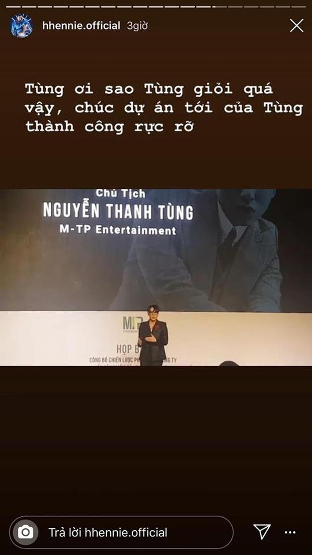 HHen Niê ra mặt ủng hộ Sơn Tùng M-TP giữa lúc netizen Hàn và Việt đang tranh cãi gay gắt phía dưới MV Hãy Trao Cho Anh - Ảnh 8.