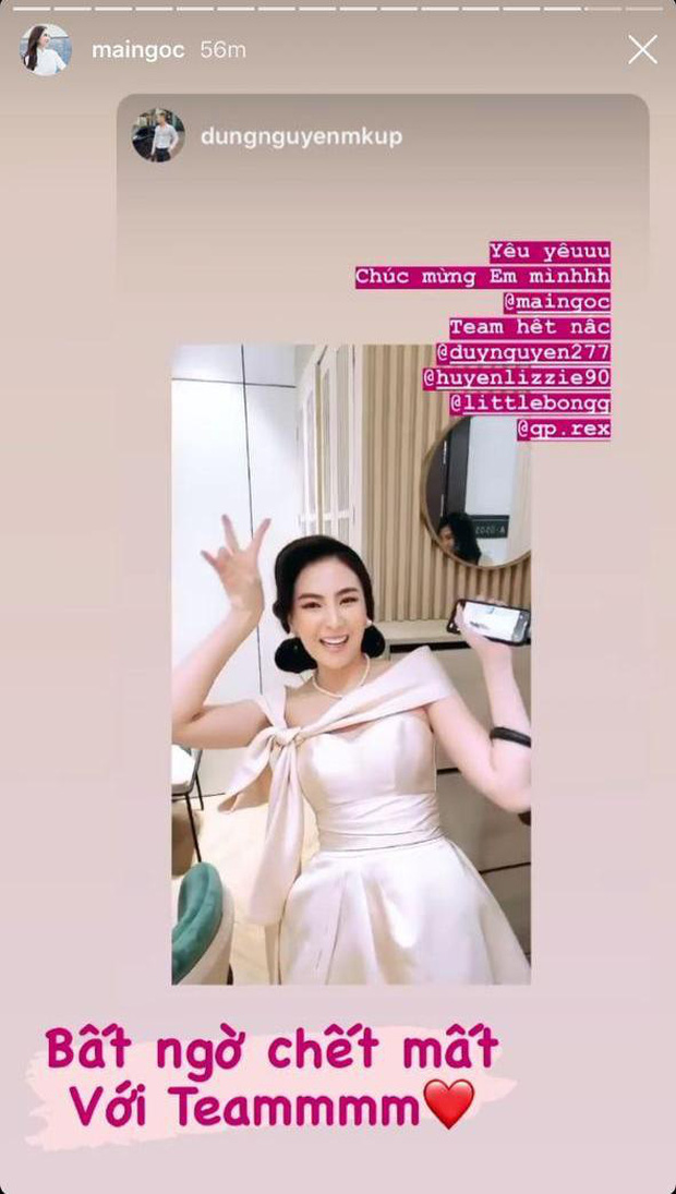 Nghi vấn MC Mai Ngọc âm thầm về nhà 40 phút trước khi VTV Awards kết thúc, mở tiệc ăn mừng với hội bạn - Ảnh 3.