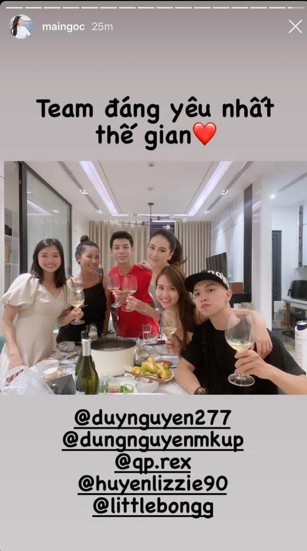 Nghi vấn MC Mai Ngọc âm thầm về nhà 40 phút trước khi VTV Awards kết thúc, mở tiệc ăn mừng với hội bạn - Ảnh 4.