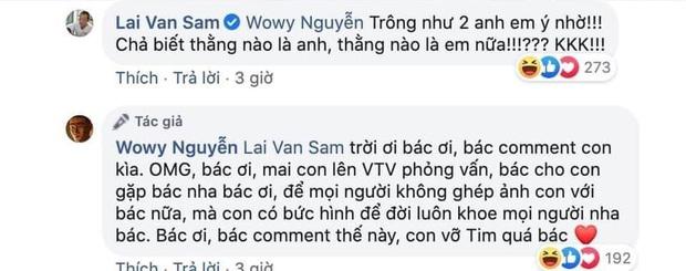 Cuối cùng thì MC Lại Văn Sâm cũng đích thân lên tiếng khi được so sánh với Wowy ở Rap Việt! - Ảnh 3.