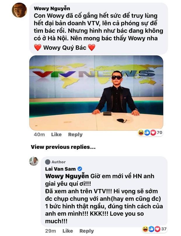 Wowy diện vest bảnh bao lên tận đài truyền hình để tìm MC Lại Văn Sâm nhưng lại nhận cái kết đắng! - Ảnh 3.