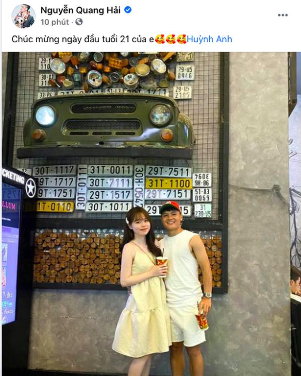 Đích thân bố mẹ Quang Hải tổ chức sinh nhật lần nữa cho Huỳnh Anh, nhìn trúng cô con dâu tương lai này rồi đây! - Ảnh 4.