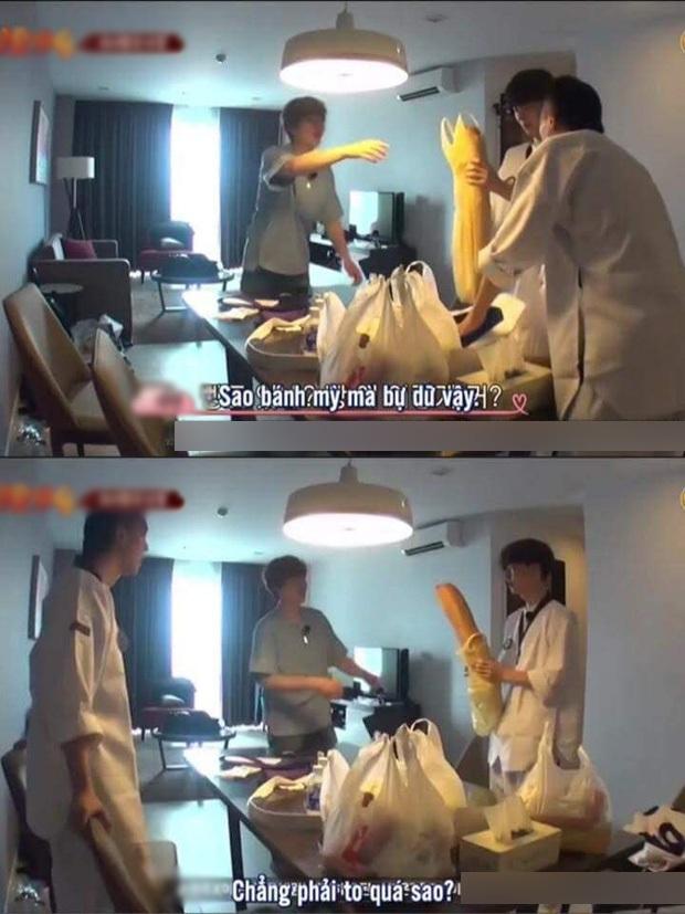 Netizens cười ngất với chiếc bánh mì khổng lồ nam idol người Hàn được tặng dịp sinh nhật, tưởng đâu mua ở Big C Việt Nam - Ảnh 6.
