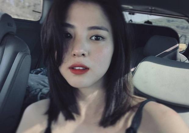 Đào lại ảnh tiểu tam hot nhất xứ Hàn Han So Hee xuống tóc: Knet phải nức nở khen nữ thần, còn giống thiên tài nhà JYP - Ảnh 7.