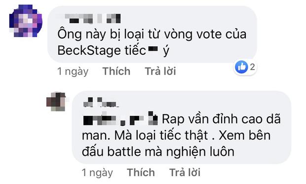 GDucky thi ấn tượng tại Rap Việt khi làm sống lại hit Đôi Mắt, thế nhưng lại bị loại ngay từ vòng gửi xe của BeckStage Battle Rap - Ảnh 4.