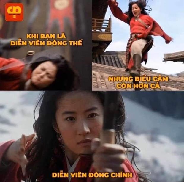 Netizen hùa nhau chế ảnh diễn xuất của Lưu Diệc Phi ở Mulan: Bất biến toàn tập, tỷ chết tâm rồi mấy em ơi! - Ảnh 14.