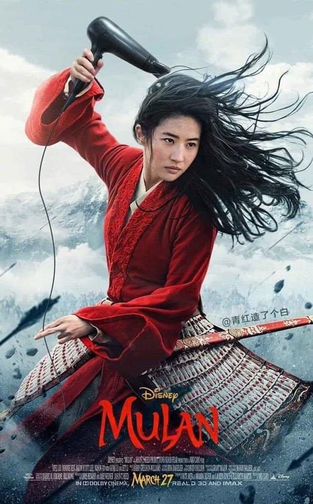 Netizen hùa nhau chế ảnh diễn xuất của Lưu Diệc Phi ở Mulan: Bất biến toàn tập, tỷ chết tâm rồi mấy em ơi! - Ảnh 9.